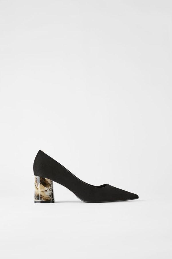 Zara Marble Heels